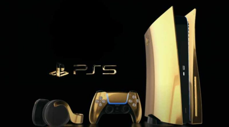 Play Station 5 oro